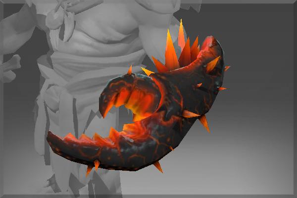 Dota 2 Lion S Immortal Item Fin King S Charm: Abyssal Hellclaw