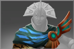 Cosmetic icon Cape of the Proudsilver Clan.png