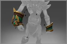 Cosmetic icon Bracers of the Dirgeful Overlord.png