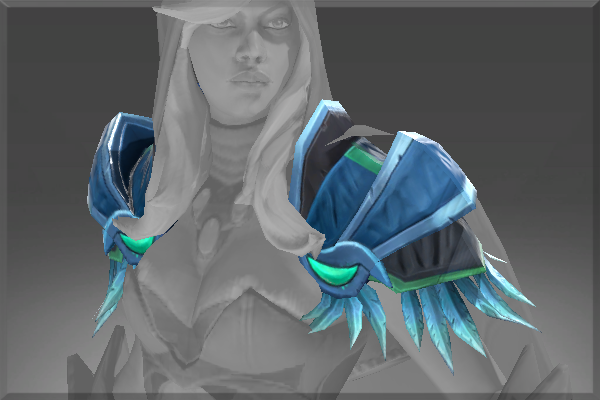 Drow Ranger S Mania S Mask Immortal: Sentinel Shoulders