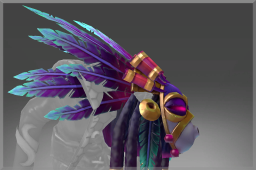Cosmetic icon Divinations of the Nothl Haze Headdress.png