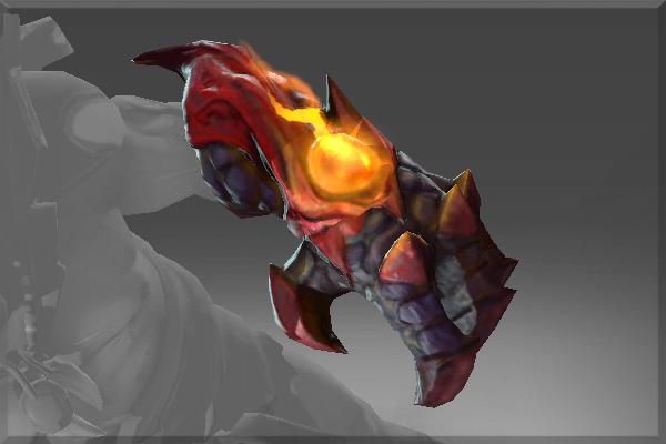 Dota 2 Lion S Immortal Item Fin King S Charm: Gauntlet Of The Treacherous Demon