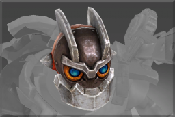 Cosmetic icon Head of the Iron Clock Knight.png
