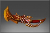 Imperial Flame Offhand Sword