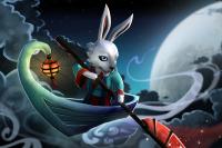 Загрузочный экран: Mei Nei Jade Rabbit