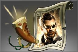 Cosmetic icon Announcer Deus Ex.png