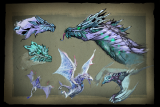 Envisioning Winter Wyvern Loading Screen