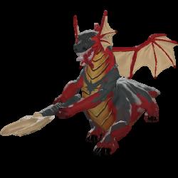 Ancient Drakken Sentinel model.png