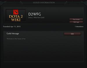 Guild - Dota 2 Wiki