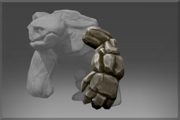 Cosmetic icon Left Arm of the Igneous Stone.png