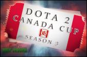 Ingresso: Dota 2 Canada Cup — 3ª Temporada