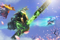 Загрузочный экран: Path of the Blossom