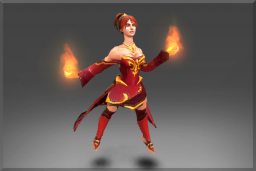 Cosmetic icon The Garments of the Charred Bloodline Set.png