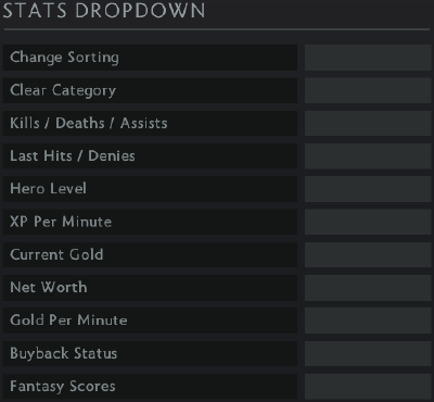 05df485b17e Spectator stats dropdown section. These hotkeys ...