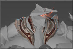 Cosmetic icon Mantle of Burning Turmoil.png