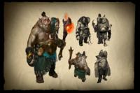 Загрузочный экран: Envisioning Ogre Magi