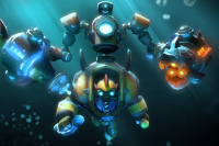 Загрузочный экран: Submerged Hazard