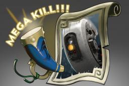 Cosmetic icon Mega-Kills GLaDOS.png