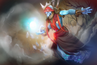 Загрузочный экран: Garb of the Frost Lord
