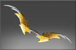 Cosmetic icon Gilded Falcon Bow.png