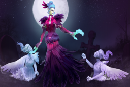 Cosmetic icon Vesture of the Unkind Countess Loading Screen.png