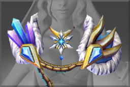 Cosmetic icon Mantle of the Crystalline Queen.png