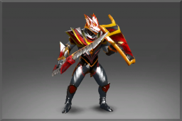 Cosmetic icon Enchanted Plate of the Crimson Wyvern Set.png