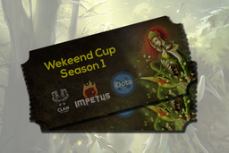 Cosmetic icon Claw Dota League - Wekeend Cup Season 1.png