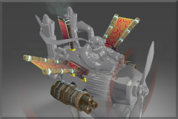 Cosmetic icon Gatling Cannon of the Dragon Emperor.png
