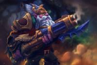 Загрузочный экран: The Dwarf Engineer