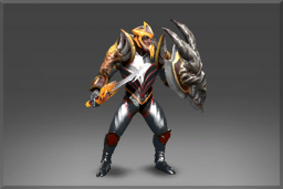 Cosmetic icon Fire-Blessed Mail of the Drake Set.png