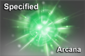 Cosmetic icon Specified Arcana Item.png