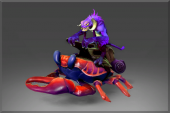 Purple Smeevil and Dyed Crab