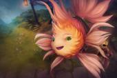 Загрузочный экран: Coral the Furryfish