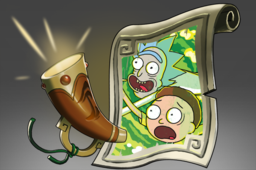 Cosmetic icon Rick and Morty Announcer Pack.png