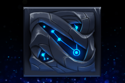 Cosmetic icon Azure Constellation HUD.png