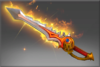 Rapier of the Burning God Offhand