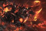 Загрузочный экран: Burning Nightmare