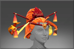 Cosmetic icon Braids of the Dragonfire.png