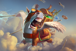 Cosmetic icon Donkey Courier (Loading Screen).png