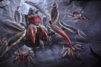 Pattern of the Silken Queen Loading Screen