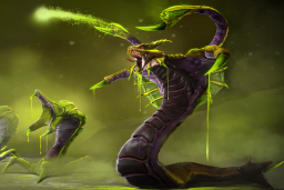 Cosmetic icon Venomous Deathbringer Loading Screen.png