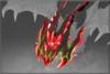Capuz do Dragonete Maligno da Testemunha Carmesim