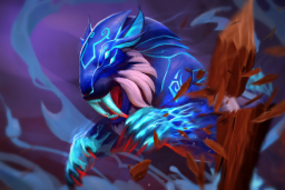 Cosmetic icon Sapphire Sabre-Lynx Loading Screen.png