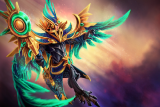 Blessing of the Crested Dawn Loading Screen