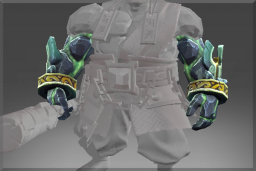 Cosmetic icon Vanquishing Demons Geomagnetic Arm Guard.png