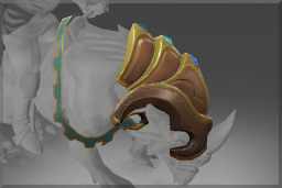 Cosmetic icon Thrice-Gemmed Barding of Sanurok.png