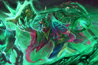 Loading Screen of the Master Necromancer