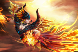 Cosmetic icon Loading Screen of the Fireflight Scion.png
