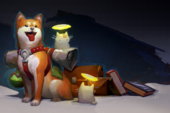 Hakobi and Tenneko Loading Screen